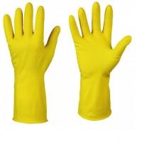 Перчатки хозяйственные ЛОТОС, с хлопковым напылением Вес: 60гр. S,M,L,XL