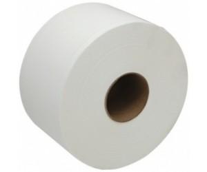 Бумага туалетная для диспенсеров, белая