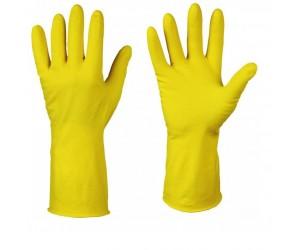Перчатки хозяйственные ЛОТОС, с хлопковым напылением