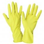 Перчатки хозяйственные с хлопковым напылением Вес: 42гр. S,M,L,XL