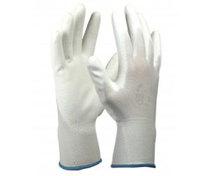 Перчатки нейлоновые с полиуретановым покрытием 13 класс вязки