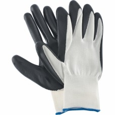 Перчатки нейлоновые, покрытие - нитриловое, 13 класс вязки